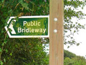 Public Bridleway Signage in the UK
