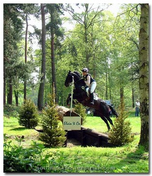 Equestrian Eventing Cross Country