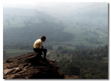 Derbyshie - Views across the Peak District