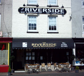 The Riverside Bar and Restaurant
