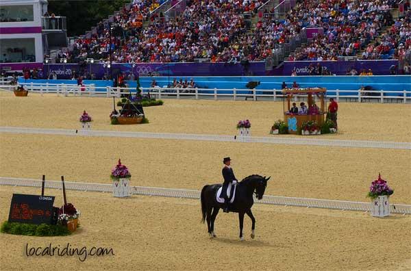 Olympics 2012 Anky van Grunsven and Salinero