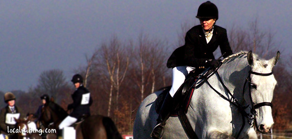 Re-Rider Enjoying a little competitive show jumping