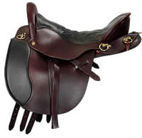 The Western Endurance Saddle