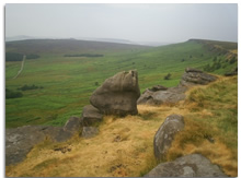 Yorkshires Stanage Edge