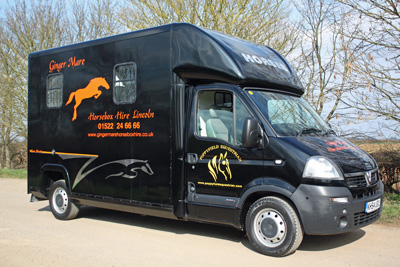 Ginger Mare Horsebox