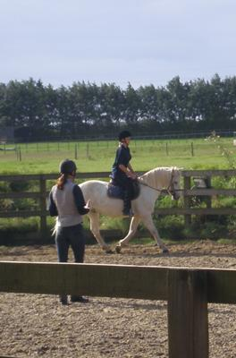Louise Edwards Riding Lesson