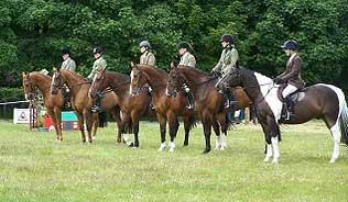 Members at Stranraer Riding Club