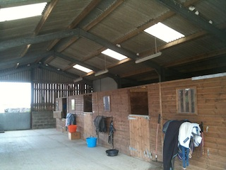Livery Stabling at Tunbridge Wells Livery Yard