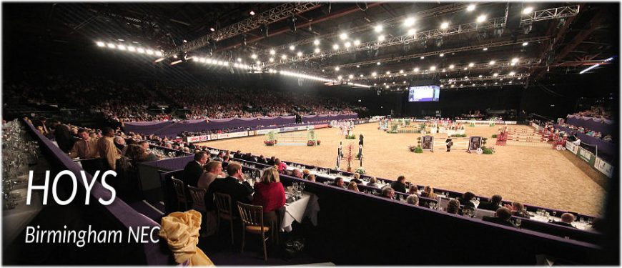 Horse of the Year Show - HOYS Birmingham NEC