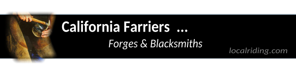 California Farriers & Blacksmiths
