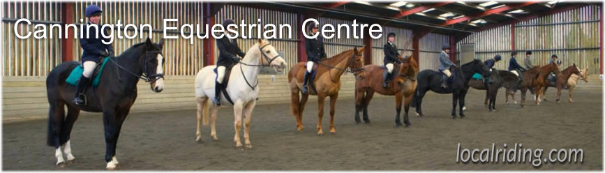 Cannington Equestrian Centre - Somerset 01278 655023
