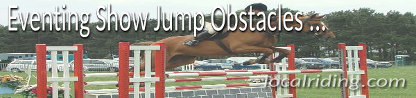 Equestrian Eventing Show Jumping Obstacles