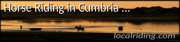 Horse Riding in Cumbria, England