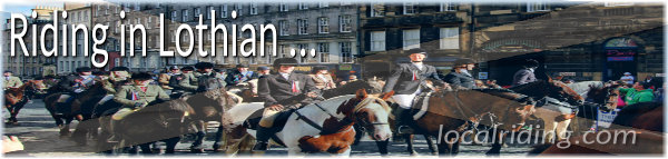 Horse Riding in Lothian, Scotland