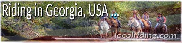 Horseback Riding in Georgia, USA