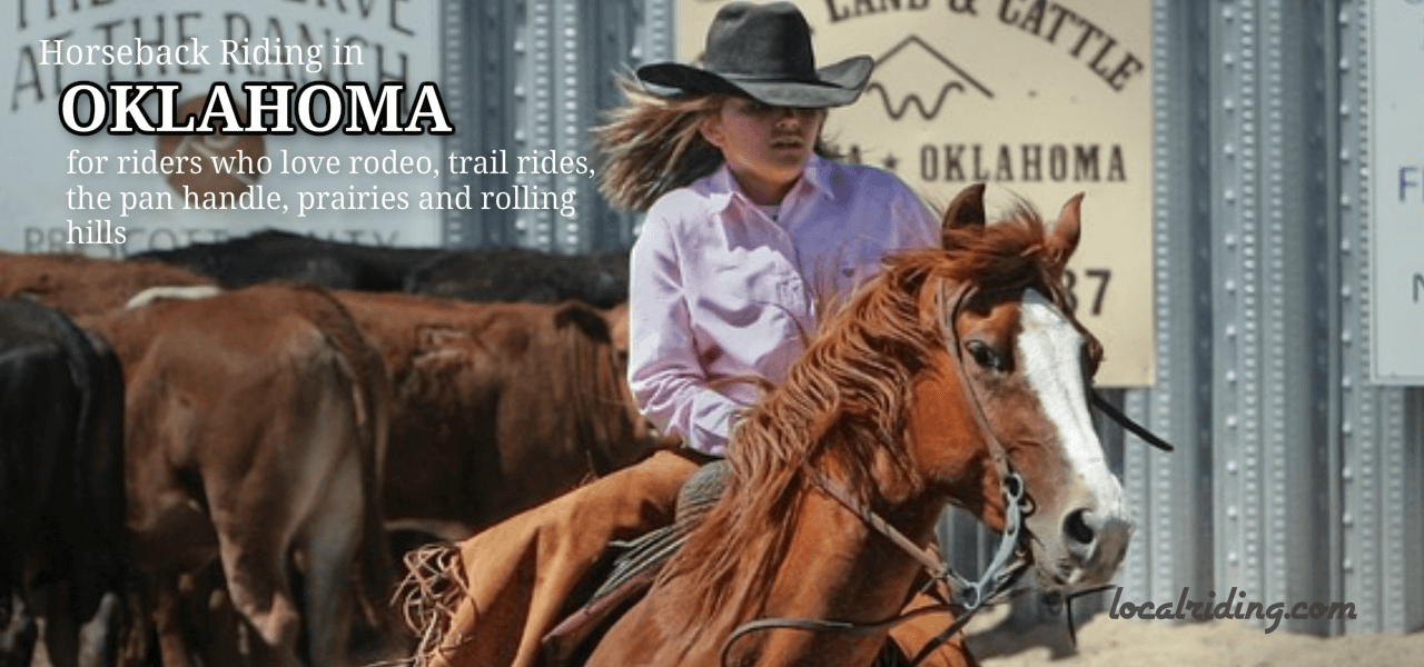 Horseback Riding in Oklahoma, USA