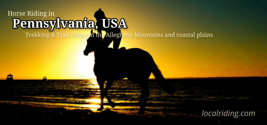 Horseback Riding in Pennsylvania, USA