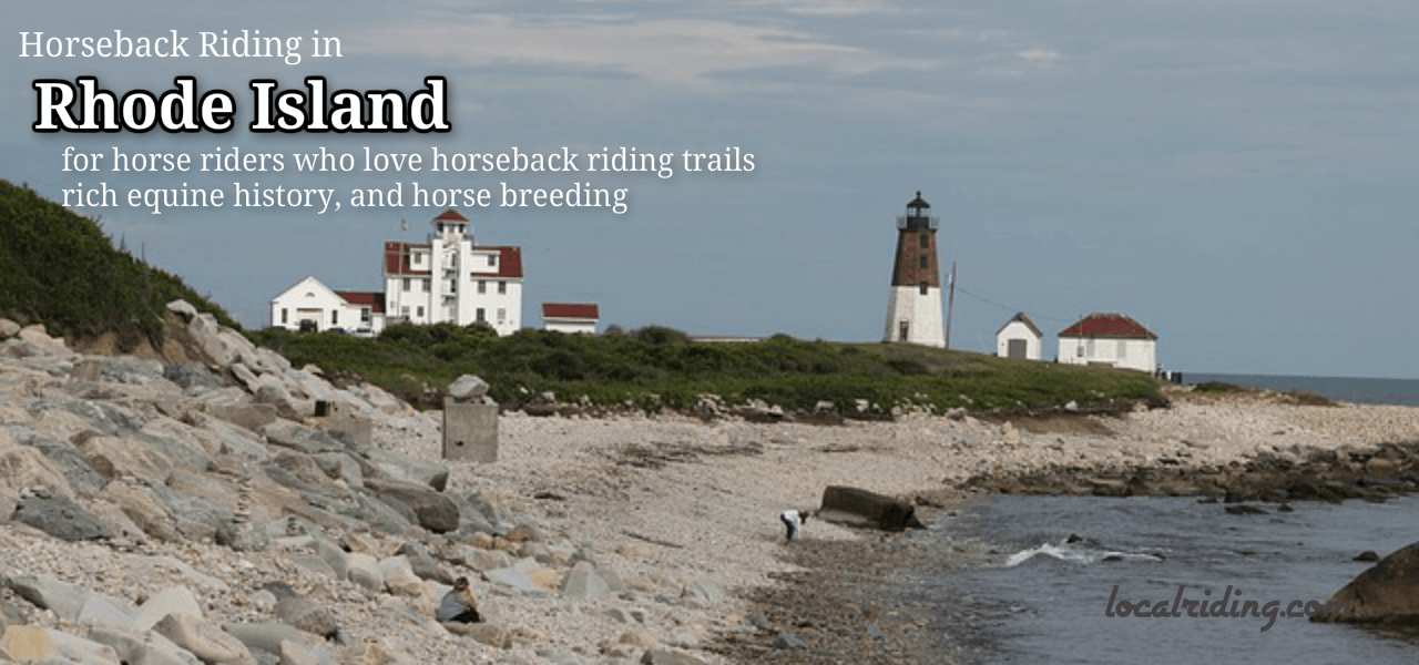 Horseback Riding in the US state of Rhode Island