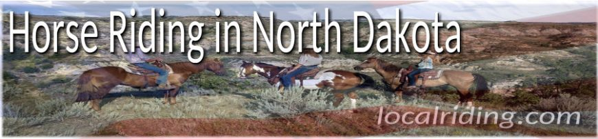 Trail Riding & Horse Riding in North Dakota USA