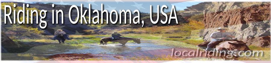 Horseback Riding in Oklahoma, USA