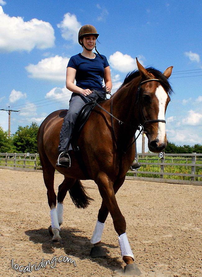 Kirstie - Riding Winnie
