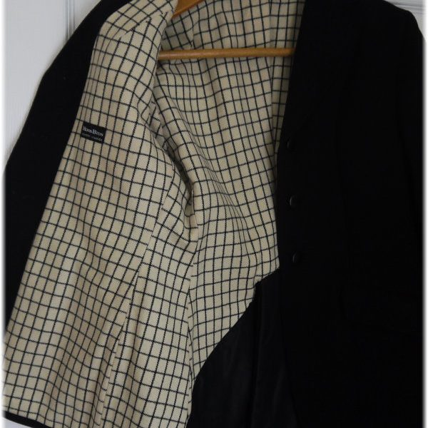 Ladies Moss Bros Hunt Jacket - Inside Lining