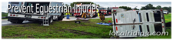 Prevent Equestrian Injuries & Horse Trailer Accidents
