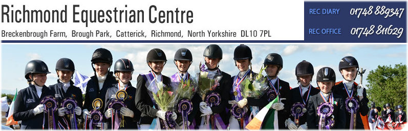 Richmond Equestrian Centre Yorkshire