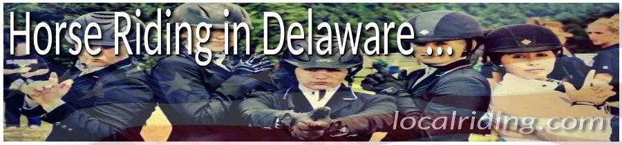 Horseback Riding in Delaware USA