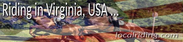 Horse Riding in Virginia, USA