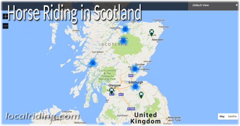 Horse Riding in Scottish Equestrian Counties