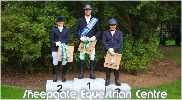 Sheepgate Equestrian - Winners
