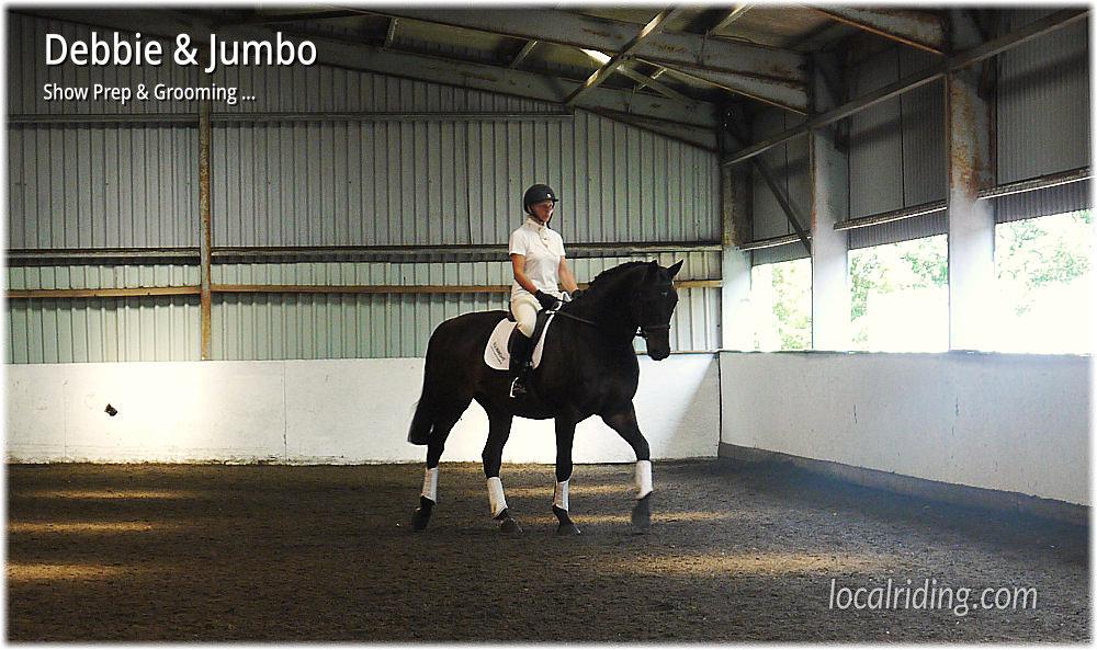 Show Prep - Jumbo Dressage 270714