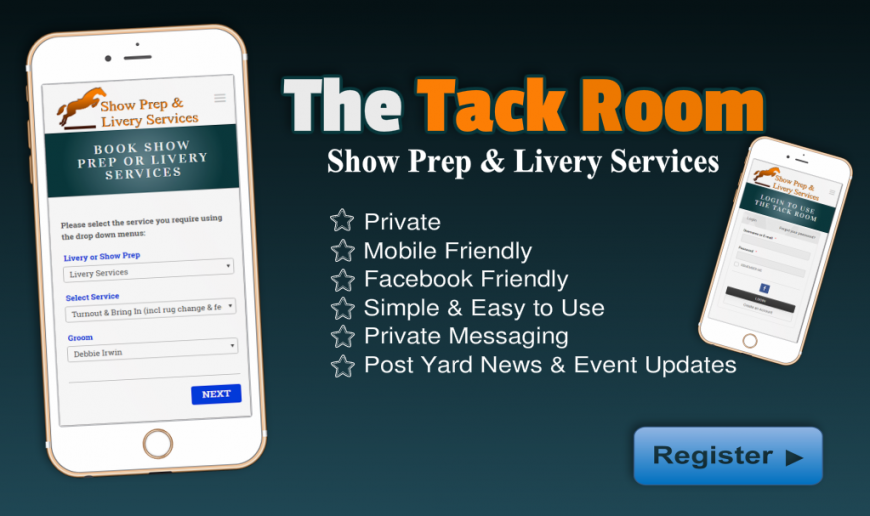 The Tack Room - SHow Prep & Livery Services