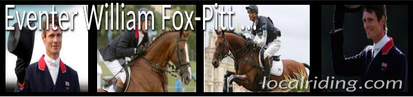 William Fox-Pitt Equestrian Event Rider