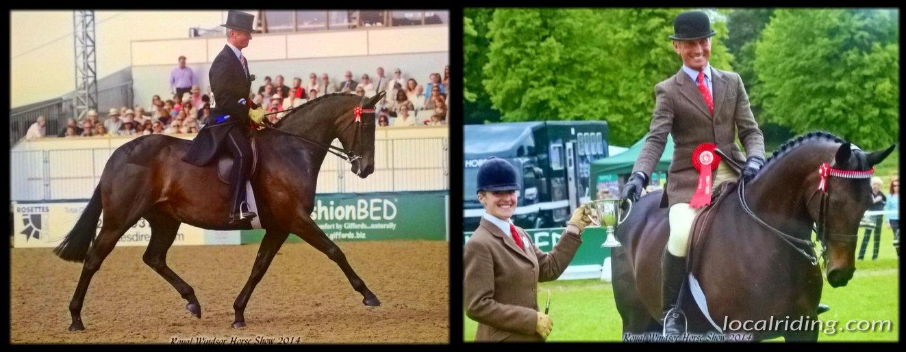Grooming for Charles le Moignan & Winning at Royal Windsor