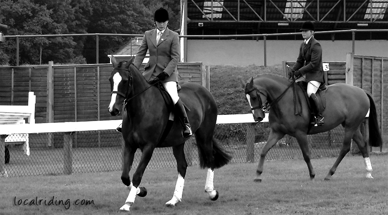 Dressage Warmup - Yorkshire Showground