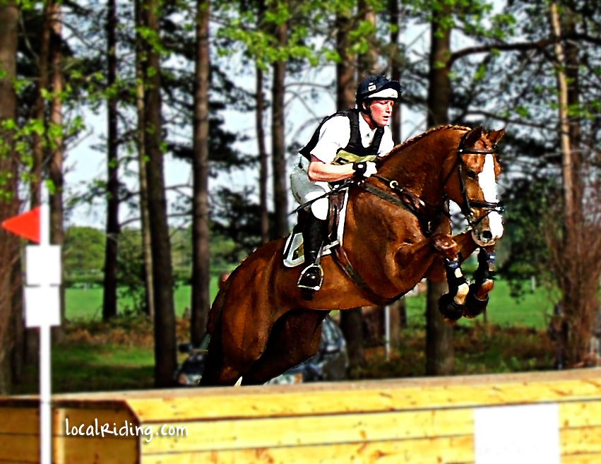 Cross Country Jumping in Equestrian Eventing