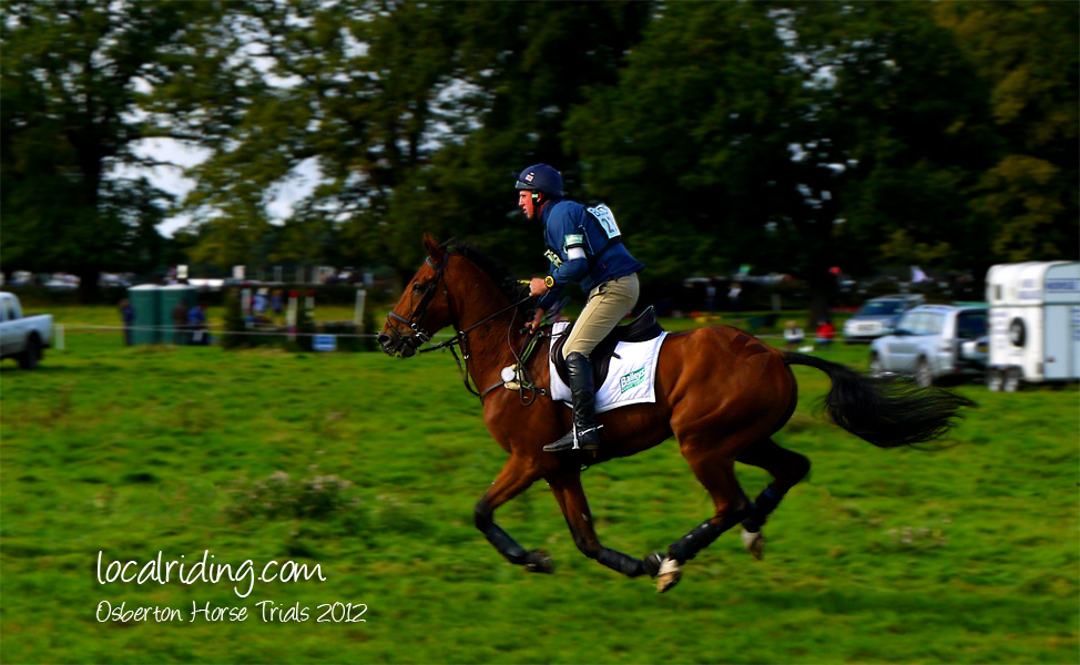 Galloping on at Osberton Horse Trials