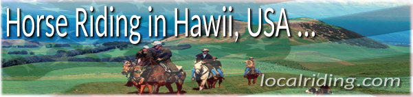 Horseback Riding in Hawaii USA