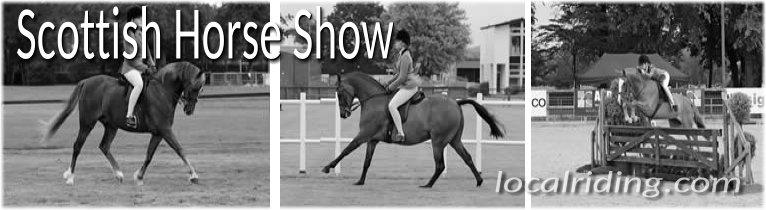 Scottish horse show -